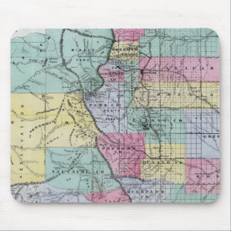 Thayer's Map of Colorado Mouse Pad