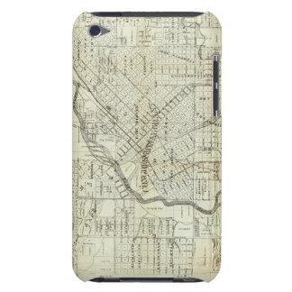 Thayer's Map of Denver Colorado iPod Case-Mate Cases
