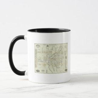 Thayer's Map of Denver Colorado Mug