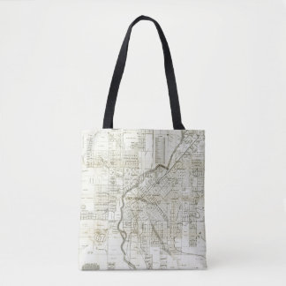 Thayer's Map of Denver Colorado Tote Bag