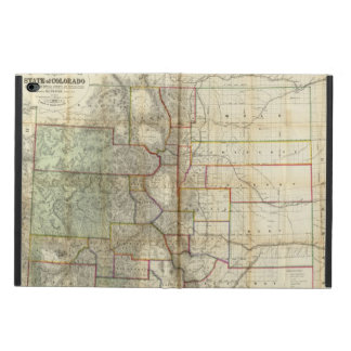 Thayer's New Map Of The State of Colorado Powis iPad Air 2 Case