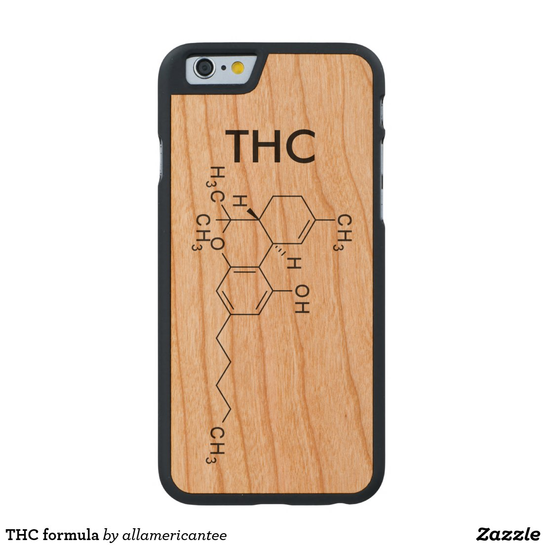 THC formula Carved Cherry iPhone 6 Case