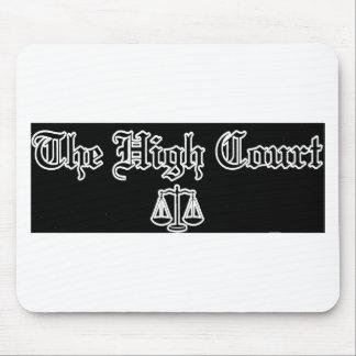 THC LOGO BLACK MOUSE PAD