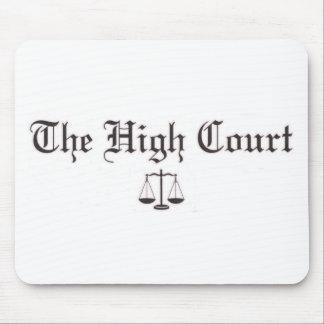 THC Logo White Mouse Pad