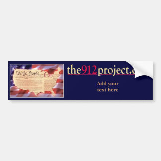 the912project.com America bumper sticker custom