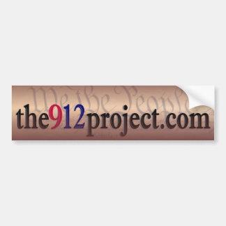 the912project.com bumper sticker antique