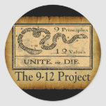 the912project.com unite or die sticker