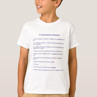The 10 Commandments of Baseball T-Shirt