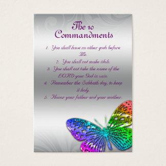The 10 Commandments Reminder Cards