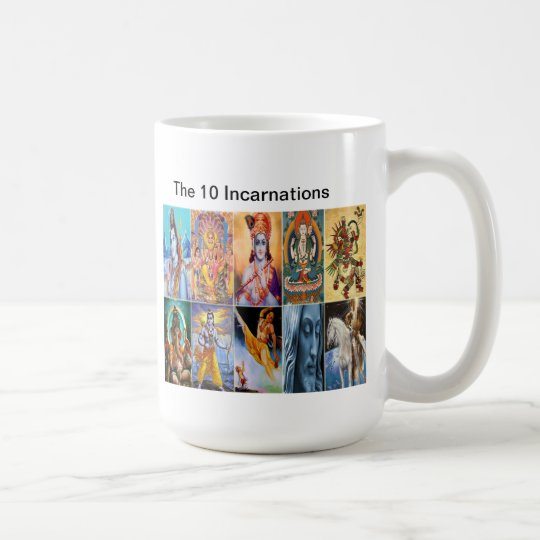 The 10 Incarnations Mug