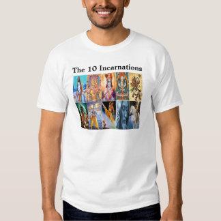 The 10 Incarnations T-shirt