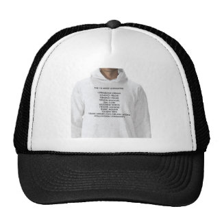 THE 10 MOST UNWANTED 1)PRESIDENT OBAMA2)NANCY P... TRUCKER HAT