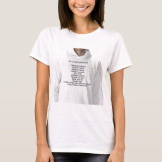 THE 10 MOST UNWANTED 1)PRESIDENT OBAMA2)NANCY P... T-Shirt