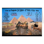 The 10 Plagues Of Egypt Greeting Card