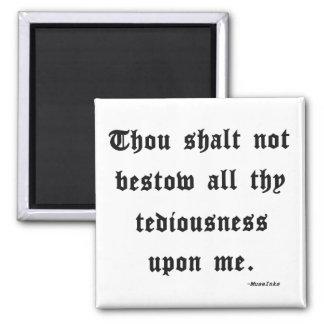 The 11th Commandment Magnet