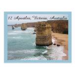 The 12 Apostles, Victoria, Australia Post Card