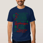 The 12 Days Of Christmas T Shirt