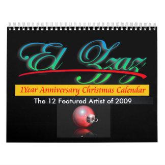 The 12 Featured Artist of 2009 Calendar