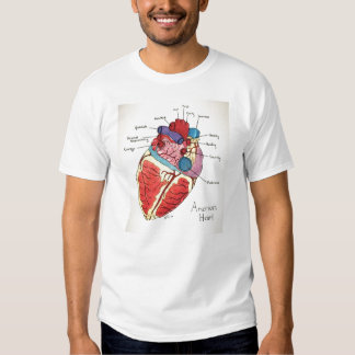 The 12 principles of 9/12 project -American Heart Shirt
