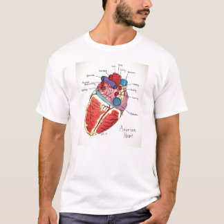 The 12 principles of 9/12 project -American Heart T-Shirt