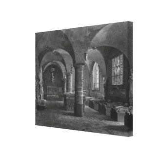 The 13th century room, Musee des Monuments Canvas Print