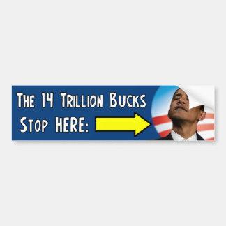 The 14 Trillion $ Debt Bumper Sticker