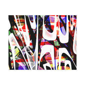 THE 14TH - Abstract Canvas Print