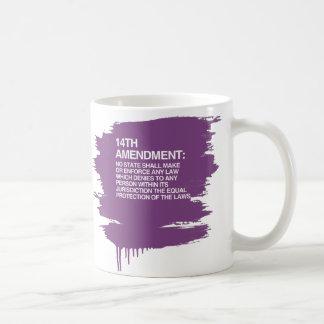 THE 14TH AMENDMENT CLASSIC WHITE COFFEE MUG