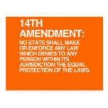 THE 14TH AMENDMENT POSTCARD
