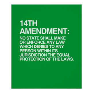 THE 14TH AMENDMENT POSTERS