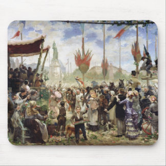 The 14th July 1880, 1882 Mouse Pad