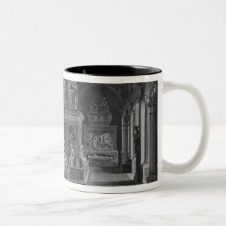 The 15th century room, Musee des Monuments Two-Tone Coffee Mug