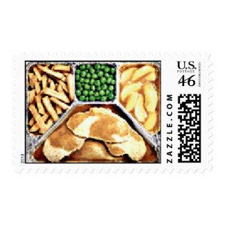 The 1950 Turkey TV Dinner Stamp
