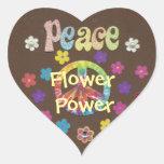 The 1960s: Flower Power sticker