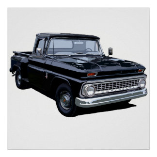 The 1963 Stepside Poster