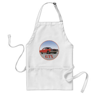 THE 1967 RED GTX ADULT APRON