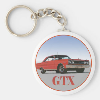 THE 1967 RED GTX KEYCHAIN