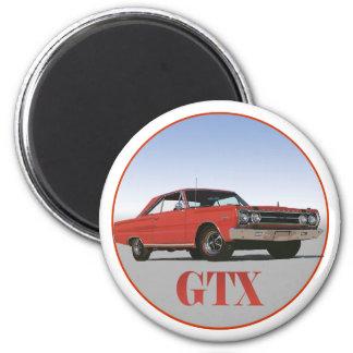 THE 1967 RED GTX REFRIGERATOR MAGNET