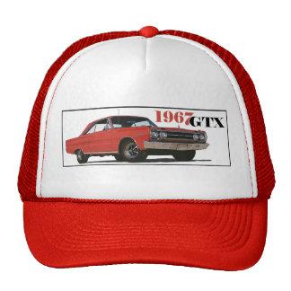 THE 1967 RED GTX TRUCKER HAT