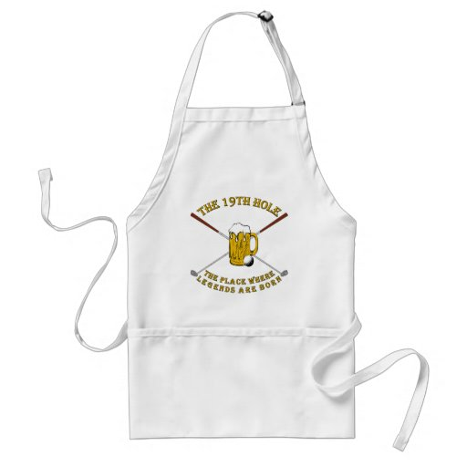 The 19th Hole Adult Apron