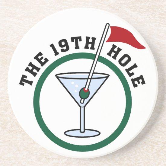 The 19th Hole coasters