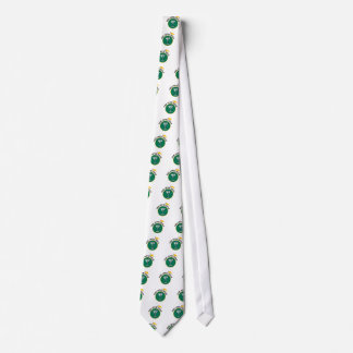 The 19th Hole Funny Golf Dadism gift Neck Tie