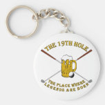 The 19th Hole Keychains
