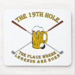 The 19th Hole Mousepads