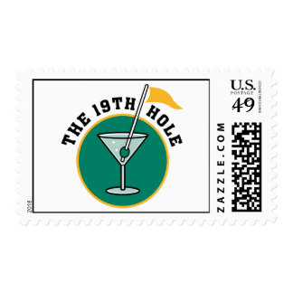 The 19th Hole Postage Stamps