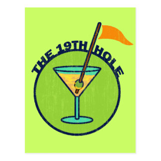 THE 19TH HOLE POST CARDS