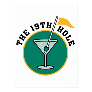 The 19th Hole Postcards
