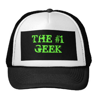 THE #1 GEEK - Customized Mesh Hats