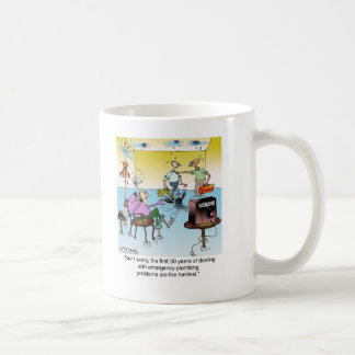 The 1st 30 Years of Plumbing Are The Hardest Coffee Mug