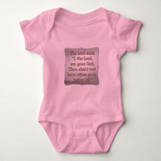 The 1st Commandment Baby Bodysuit